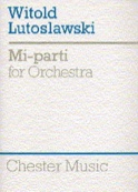 Mi-Parti - Score Witold Lutoslawski Partition laflutedepan.com