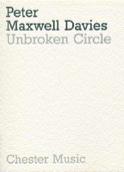 Unbroken circle - Score Davies Peter Maxwell laflutedepan.com