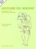 Histoire du Soldat - Score Igor Stravinsky Partition laflutedepan.com