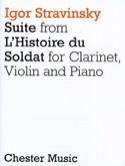 Suite de L'histoire du Soldat – Clarinet Violin Piano - laflutedepan.com