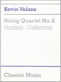 Quatuor à Cordes N° 2 Kevin Volans Partition laflutedepan.com