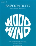 Bassoon duets - Volume 1 Partition Basson - laflutedepan.com