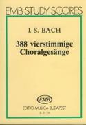 388 vierstimmige Choralgesänge - Partitur BACH laflutedepan.com