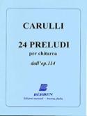 24 Preludi dall' op. 114 - Chitarra laflutedepan.com