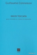 Disco-Toccata - Guillaume Connesson - Partition - laflutedepan.com