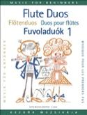 Flute duos for beginners - Volume 1 Laszlo Csupor laflutedepan.com