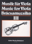 Music For Viola Volume 3 S. Gusztav Szeredi Partition laflutedepan.com