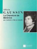 La chevelure de Bérenice Alain Gaussin Partition laflutedepan.com
