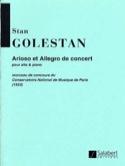 Arioso et Allegro de concert - Stan Golestan - laflutedepan.com