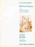 10 Pièces Variées - Harpe Louise Charpentier laflutedepan.com