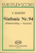 Symphonie N° 94 La Surprise HAYDN Partition laflutedepan.com