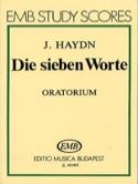 Die sieben Worte - Oratorio . Joseph Haydn Partition laflutedepan.com