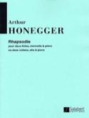 Rhapsodie -2 flûtes, clarinette et piano laflutedepan.com