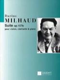 Suite op. 157b - violon, clarinette et piano laflutedepan.com