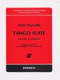 Tango Suite - para duo de guitarras Astor Piazzolla laflutedepan.com