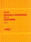 Ecole raisonnée de la guitare –Livre 2 Emilio Pujol laflutedepan.com
