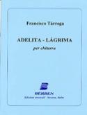 Adelita - Lagrima Francesco Tarrega Partition laflutedepan.com