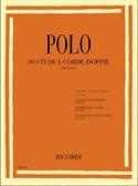 30 Etudes en doubles cordes Enrico Polo Partition laflutedepan.com