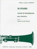 25 Etudes faciles et progressives Jacques Lancelot laflutedepan.com