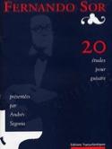 20 Etudes (Segovia) - Fernando Sor - Partition - laflutedepan.com