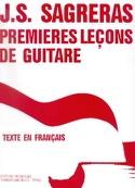 Premières leçons de guitare - Julio S. Sagreras - laflutedepan.com