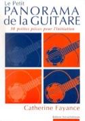 Le petit panorama de la guitare Partition Guitare - laflutedepan.com
