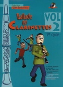 Ballade en clarinettes - Volume 2 Cycle 1 Partition laflutedepan.com