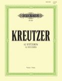 42 Etudes révisées par Davisson - Rodolphe Kreutzer - laflutedepan.com