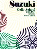 Cello School Volume 1 - Cello-Part Suzuki Partition laflutedepan.com