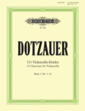 113 Etudes pour violoncelle - cahier 1 1-34 laflutedepan.com