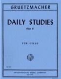 Daily studies op. 67 - Cello Friedrich Grützmacher laflutedepan.com