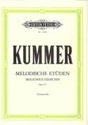 10 Melodische Etüden op. 57 Friedrich-August Kummer laflutedepan.com