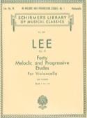 40 Melodic and progressive etudes op. 31 - Volume 1 laflutedepan.com