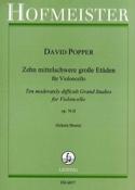10 Etüden op. 76/2 David Popper Partition laflutedepan.com