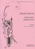 Violoncello Etüden-Schule, Heft 2 Jakob Sakom laflutedepan.com
