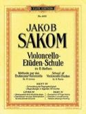 Violoncello Etüden-Schule, Heft 4 Jakob Sakom laflutedepan.com