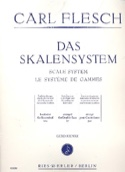 Le Système de Gammes - Contrebasse Carl Flesch laflutedepan.com