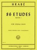 86 Etudes, Volume 1 - String bass Josef Hrabe laflutedepan.com