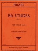 86 Etudes, Volume 2 - String bass Josef Hrabe laflutedepan.com