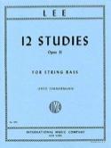 12 Studies op. 31 – String bass Sebastian Lee laflutedepan.com