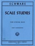 Scale Studies - String bass Oswald Schwabe Partition laflutedepan.com