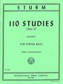 110 Studies op. 20, Volume 1 Wilhelm Sturm Partition laflutedepan.com