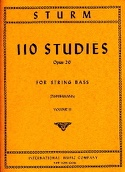110 Studies op. 20, Volume 2 – String bass laflutedepan.com