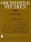 Orchesterstudien - Flöte Bruckner Anton / Reger Max laflutedepan.com