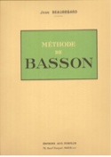 Méthode de basson Jean Beauregard Partition Basson - laflutedepan.com
