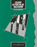 Learn as you play Bassoon - Partition - Basson - laflutedepan.com