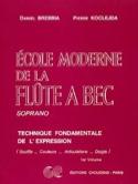 Ecole moderne de la Flûte à Bec Soprano Volume 1 laflutedepan.com