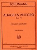 Adagio & Allegro op. 70 SCHUMANN Partition Alto - laflutedepan.com