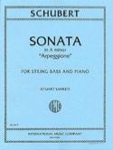 Sonate A min. Arpeggione D 821 - Contrebasse SCHUBERT laflutedepan.com