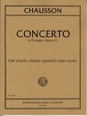 Concerto in D major op. 21 - Violin, string quartet piano laflutedepan.com